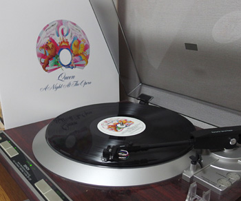 LP:A Night At The Opera/Queen 1974