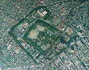駿府公園付近の2万分の1の航空写真