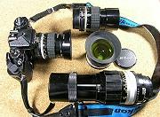 Nikon FE + 35mm F2.0,200mm F4.0,105mm F2.5,28mm F3.5