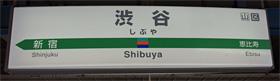 JR東日本 渋谷駅 3番ホーム(埼京線、湘南新宿ライン)