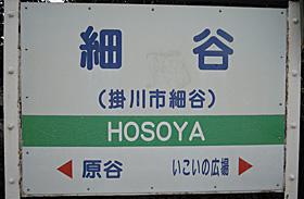 天竜浜名湖鉄道 細谷駅 1番ホーム(天竜浜名湖線)