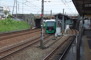 静岡鉄道 桜橋駅から見た桜橋